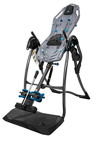 Teeter FitSpine LX9 Inversion Table, Deluxe EZ-Reach Ankle System, Back Pain Relief Kit, FDA-Registered (LX9)