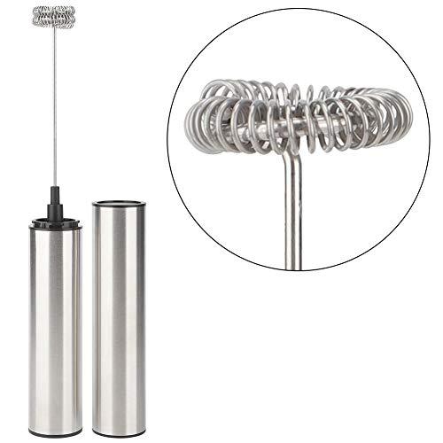 Elektrische eierklopper, schuimmaker, automatische melkopschuimer-mengtool, USB oplaadbaar, laag geluidsniveau, voor melk, koffie, thee roerstaaf