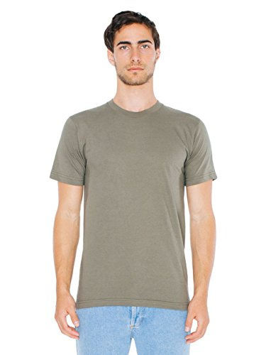 American Apparel Men's Unisex Fine Jersey Short-Sleeve T-Shirt