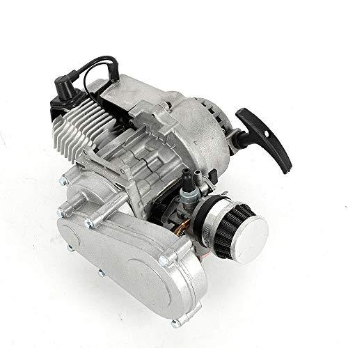 49cc 2-Takt Pull Startmotor Motor + Getriebe Pocketbike Mini-Rennrad ATV Roller