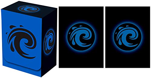 Legion Supplies Absolute Iconic Blue Water Deck Box with 100 Sleeves