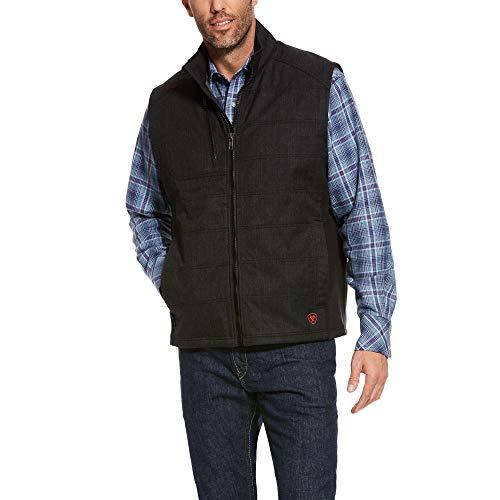 ARIAT Men's Fr Cloud 9 Insulated Vest Black Size Medium