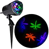 Gemmy Lightshow Projection Whirl-A-Motion Dragonflies (PBGO)