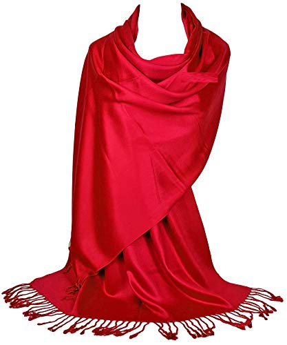 GFM®-Marke Pashmina Style Schal mit sehr glatter Oberfläche (L9-160-08-SCLL)