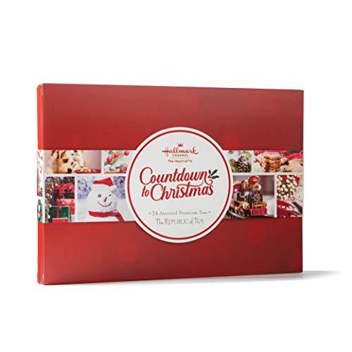 The Republic of Tea Hallmark Countdown to Christmas Tea Companion Sample Set
