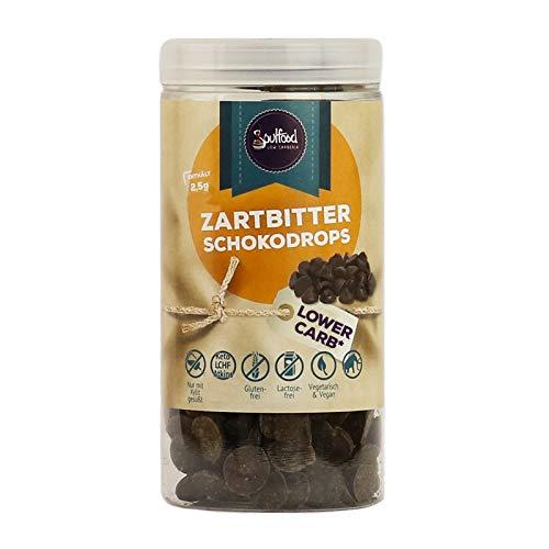 Zartbitter Schokolinsen von Soulfood LowCarberia 125g
