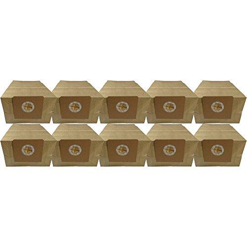 10 Industrie- Baustellen- Gewerbe- Heavy Papier Staubsaugerbeutel passend für Kärcher NT301, 6.904-143/6.904-076
