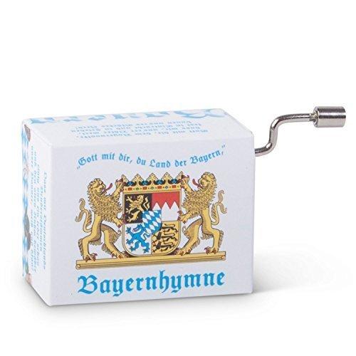 meinherzschlag Mini-Drehorgel Bayern-Hymne