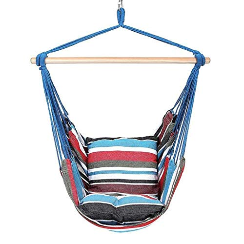 Nordic Style Hammock Portable Dormitory Bedroom Hanging Chair Indoor Outdoor Hammock Garden Swing Hanging Bed for Child Adult