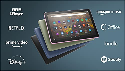 All-new Fire HD 10 tablet | 10.1', 1080p Full HD, 32 GB, Olive - with Ads