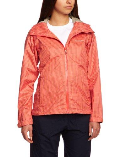 Columbia Silver Ridge II Veste imperméable pour Femme Orange Zing Grand