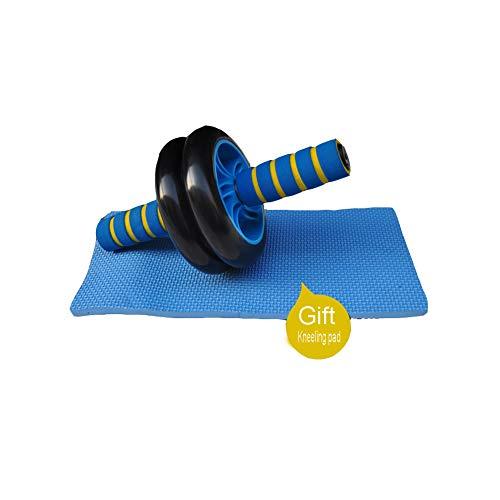 ZFMG Rueda Fitness hipopresivos para Ejercicios AB Abdominal Aparato Entrenamiento Ejercicio Equipo básico Antideslizante Mudo Resistente Desgaste