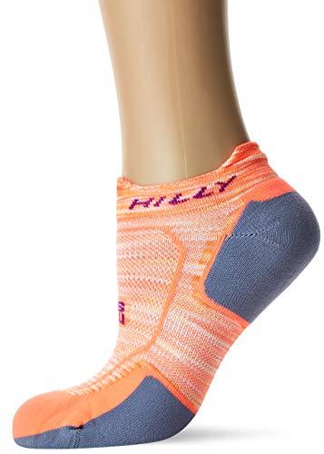 Hilly Damen Lite Comfort Socklet Socken S Neon Candy/Nickel