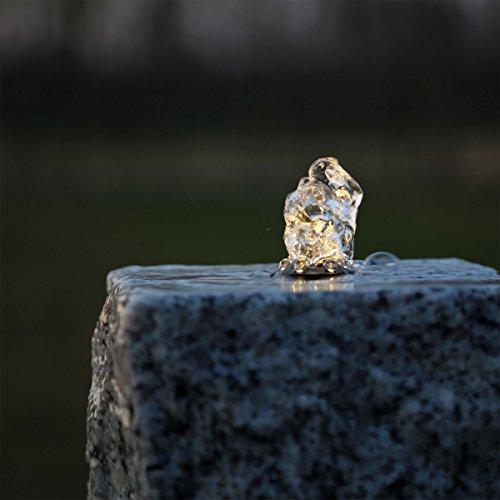 CLGarden LED Ring warm Weiss für Springbrunnen Beleuchtung Licht Lichter Lampen Lämpchen Kranz