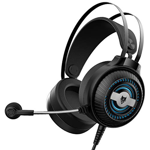 Xi-Link E-Sports Game Headset Computerkopf Tragen Kopfhörer (Color : Black)