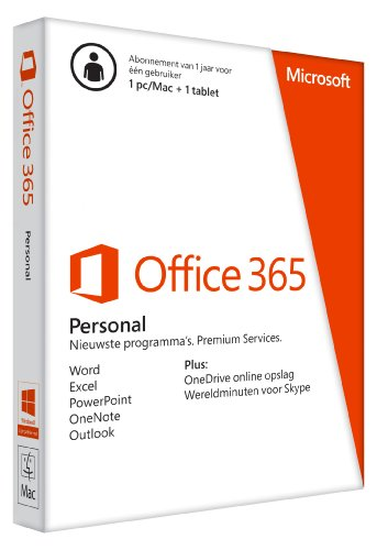 MS Office 365 Personal 32-bit/x64 Subscr 1YR Euroz