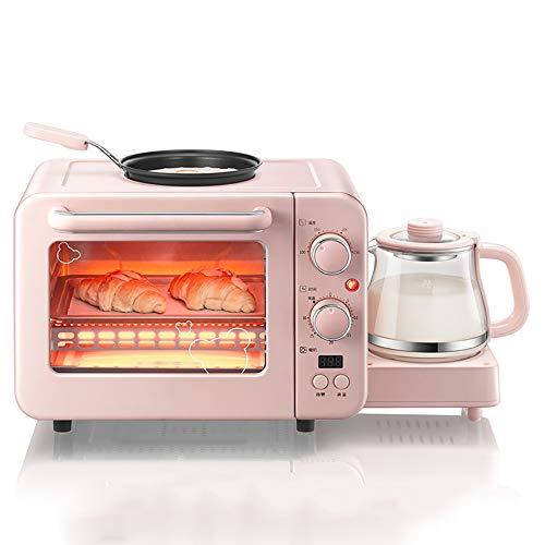 Multi-functioneel ontbijt machine, huishoudelijke broodrooster, kleine elektrische oven, omelet, non-stick koekenpan