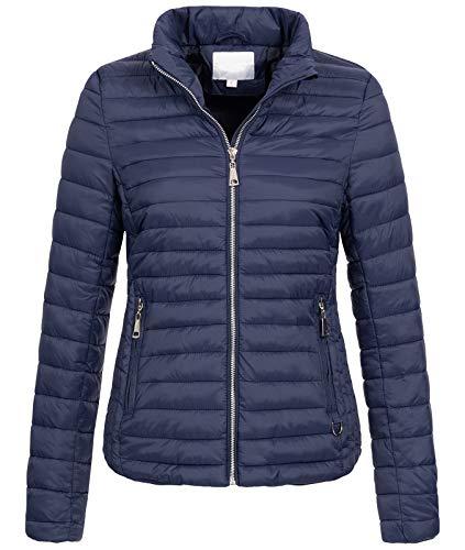 Rock Creek Damen Steppjacke Übergangsjacke Leicht Outdoorjacke Damenjacke Frauen Jacken Gesteppte Jacken Herbstjacke Jacke Weste D-427 Navy XS