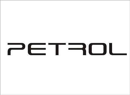 Onlinemart Decorative Petrol Car Sticker for Windows, Sides, Hood, Bumper - Pack of 2