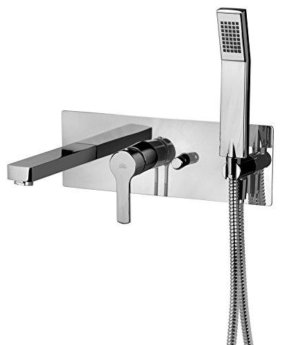 Paffoni Vasca WEST Miscelatore vasca incasso con deviatore bocca erogazione e doccia