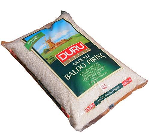 Duru - XL Beutel Akdeniz Baldo Rundkorn Reis - Baldo Pirinc (5000g)