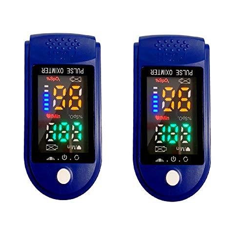 Anself 2pcs Strumento di rilevamento, misurazione rapida in 10 secondi e funzione di allarme di spegnimento automatico, adatto per famiglia e viaggi