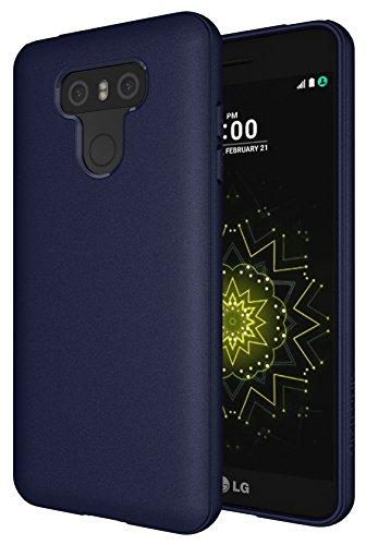 Diztronic LG6-FM Custodia per LG G6, Opaco/Navy Blu