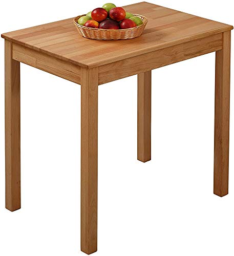 Mesa de Comedor Mesa de Comedor de Madera Maciza Moderno Minimalista Restaurante Restaurante Mesa de Comedor Mesa de Comedor,Brown-110 x 75 x 75 cm