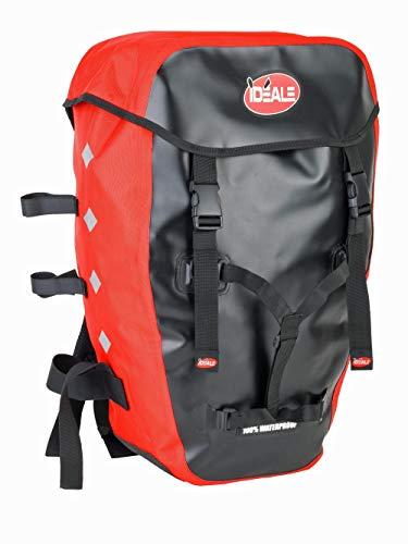 Ideale Hitec Fahrradrucksack Rucksack schwarz/rot NEU