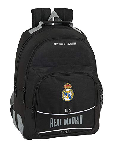 Mochila Safta 612024773 Escolar de Real Madrid, 320x150x420 mm