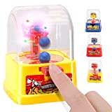 12 Pack Electronic Finger Basketball Shooting Game   Mini Handheld Desktop Table Arcade Hoop Toys with Light and Sound for Kids Party Favors