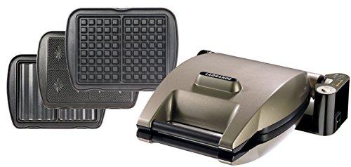 Lagrange 019622 Premium - Máquina para hacer gofres, barquillos y sándwiches