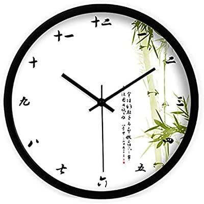 Creative Simple Wall Clock Antique Chinese Art Large Watch Retro Digital Wall Clock Modern Design Relojes