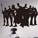 Sticker Sticker Batman Superhero Marvel Dc Comics Autocollant Superman Batman Décalque
