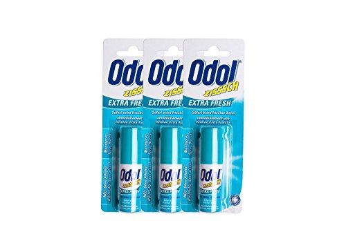 3x Odol Mundspray EXTRA FRESH 15ml
