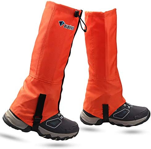 MAGARROW Leg Gaiters Hiking Snow Boot Gaiter Outdoor Waterproof Gaiters Shoes Cover Oxford Fabric product image