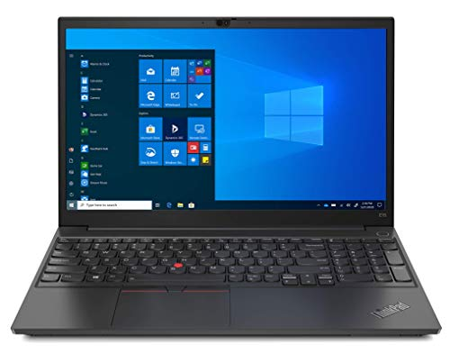 Lenovo ThinkPad E15 Gen 2 - Ordenador Portátil 15.6' FullHD (Intel Core i5-1135G7, 8GB RAM, 256GB SSD, Intel Iris Xe Graphics, Windows 10 Pro) Negro - Teclado QWERTY Español