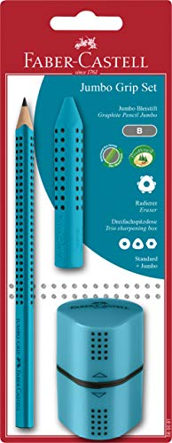 Faber-Castell 580081 - Jumbo Grip Set, türkis