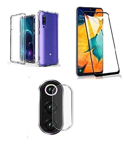 kit Capa CApinha Transparente AntiShock+Película 3D+Película Camera Xiaomi MI 9 SE