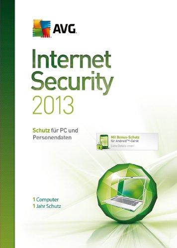 AVG Internet Security 2013 1-Platz [import allemand]
