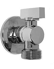 Apparaatventiel/hoekventiel/uitloopventiel met terugslagklep 1/2 inch op 3/4 inch