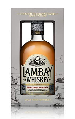 LAMBAY WHISKEY, Irish Malt, Whiskey Irlandais, 43° 70cl
