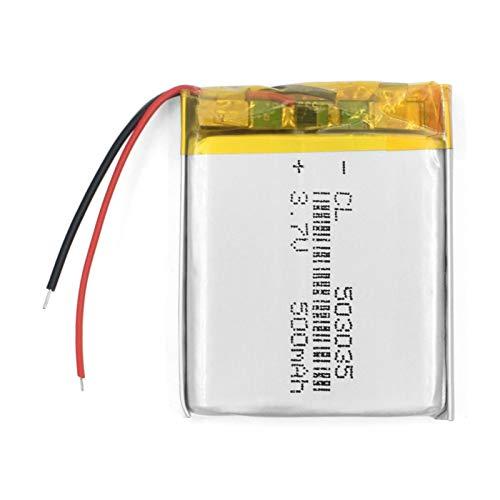 503035 3.7v 500mah batería de polímero de Litio batería Recargable de Grasa de Iones de Litio para navegación GPS con DVD 1pcs