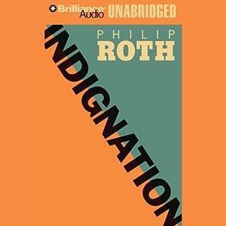 Indignation audiobook cover art