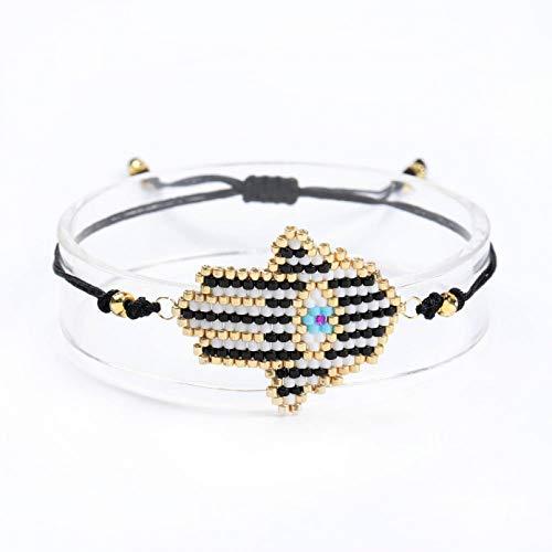N/A Armband Armband für Frauen Hand Armbänder Evil Eye Armbänder Perlen Schmuck Geschenke Handmade Dropshipping Weihnachts Geburtstagsgeschenk