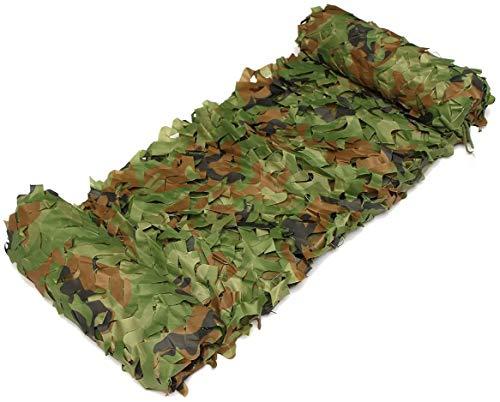 Azlinc Tarnnetz Camouflage Netz Tarnung Sichtschutz für Camping Jagd Garten, Auto Sonnenschutz Mesh Abdeckung, Party Hintergrund Fotografie Dekoration (4x5m)