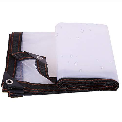 JIANFEI Lona Impermeable A Prueba De Lluvia Transparente Resistente Al Desgaste, PVC Tamaño Puede Ser Personalizado (Color : Claro, Tamaño : 1x1m)