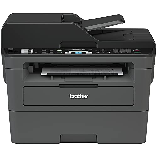 Brother Premium MFC-L2690DW Series Compact Monochrome All-in-One Laser Printer | Print Copy Scan Fax | Wireless | Mobile Printing | Auto 2-Sided Printing | ADF | 26 ppm |