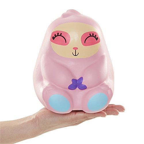 Squish-Dee-Lish Jumbo Sloath - Squishy Jumbo Toy Squishies - Slow Rising Sloath Soft Kids Toys Pink Sloath Series #1
