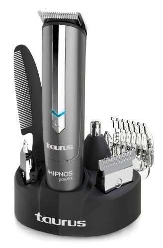 Taurus Hipnos Power - Barbero con cuatro cabezales intercamb